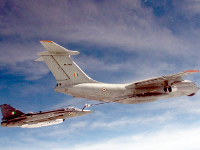 Successful Air-to-Air Refuelling of LCA Tejas